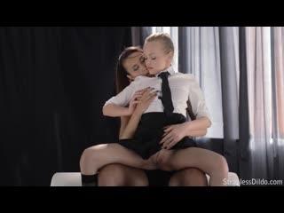 Strapless Dildo - Angellina and Jane Student Girl