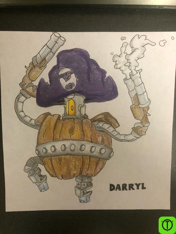 #Арт Пожалуй, лучший арт Дэррила на бумаге