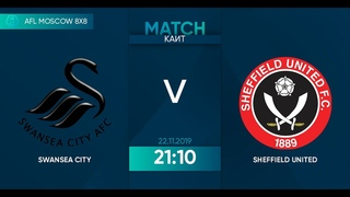 AFL19. England. Premier League. Day 21. Swansea City  - Sheffield United.
