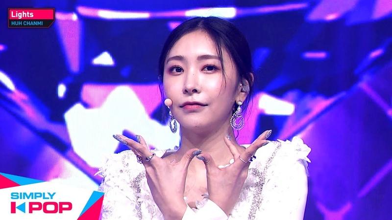 Simply K Pop HUH CHANMI 허찬미 Lights Ep 425