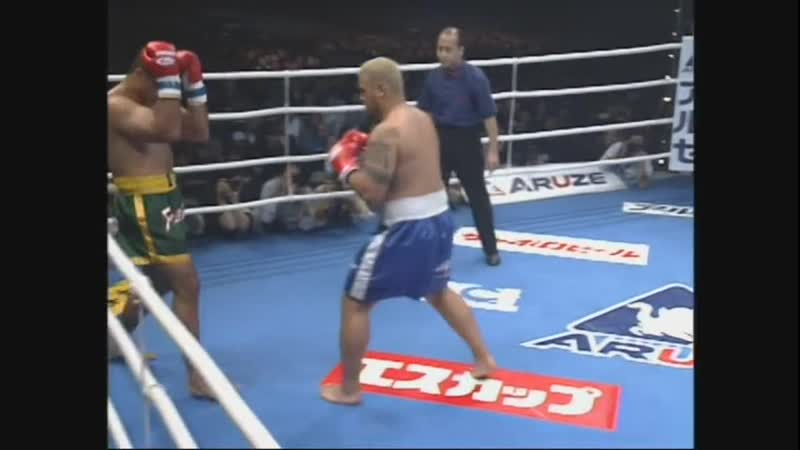 21 2001 12 18 Francisco Filho vs Mark Hunt K 1 World Grand Prix 2001 Finals 2