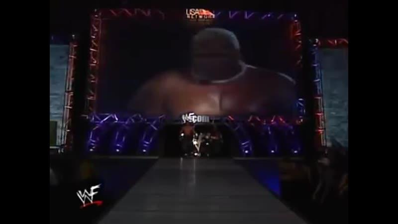 Rikishi Showkishi vs Edge Christian Tag Team Championship Raw 05 01 00
