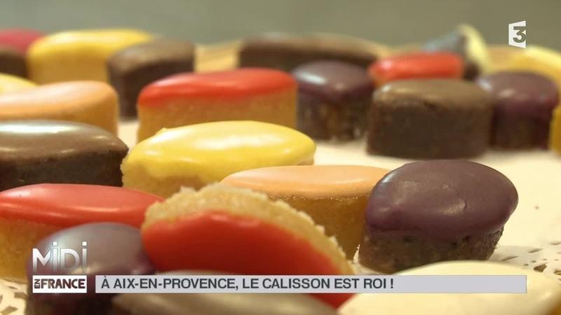 SOURIRE DE FRANCE À Aix en Provence le calisson est roi