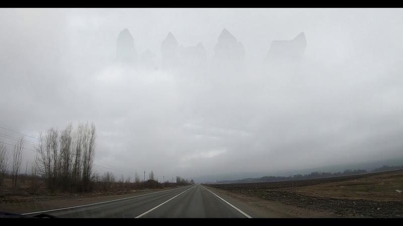 В Ростове засняли небесный город ангелов? /летающая тарелка /