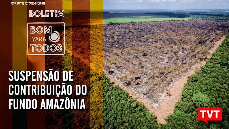 🔴Dallagnol fez lobby no STF – Suspensão de contribuição do Fundo Amazônia – Bom Para Todos 16.08.19