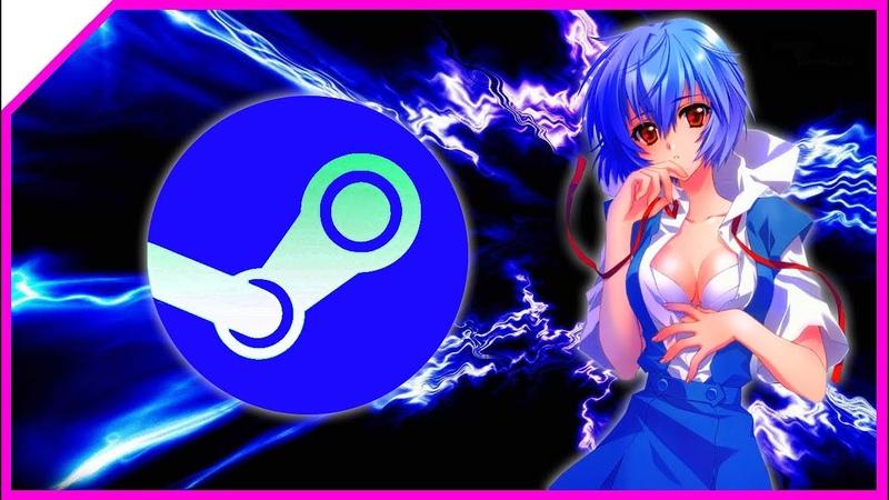 АНИМАЦИЯ В STEAM ПРОФИЛЬ Rei Ayanami Evangelion АНИМЕ ANIME 2020