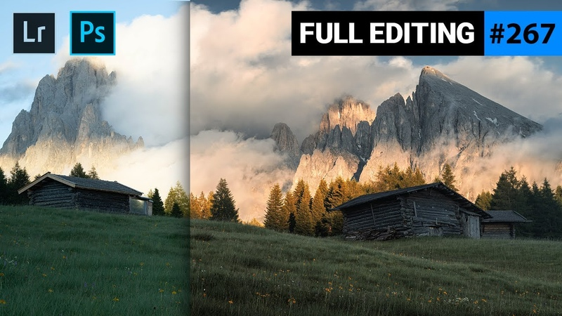 Create a Golden Faded Sunset with Lightroom Photoshop QE 267