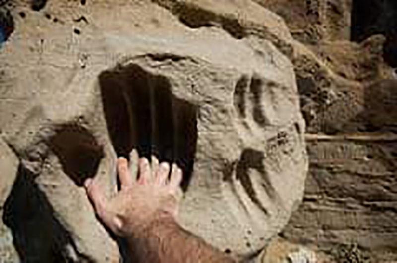 Пластилин стал камнем или камень превратили в пластилин?