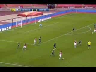 Монако  Дижон. 1:0. Головин