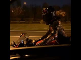 про дружбу😶 #мотоТаня девушка на красном мотоцикле