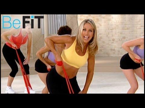 Denise Austin: Upper Body Resistance Workout- Arms, Chest Shoulders
