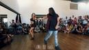 Mafie Zouker Anna Russa Demo aula Intermediário VII Rio Zouk Congress
