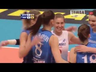 Nataliya Goncharova 34 points vs Lokomotiv Russian Women's Volleyball Super League 2019