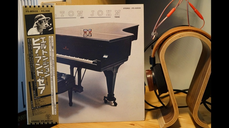 Elton John Live In New York 1974 Here And There (Vinyl)