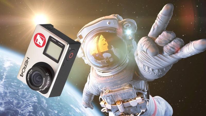 Макросъемка на GoPro в космосе Объективы PIXAERO для научных исследований