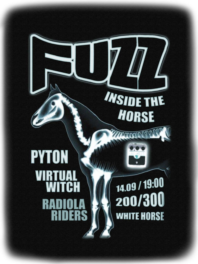 Афиша Волгоград FUZZ INSIDE THE HORSE