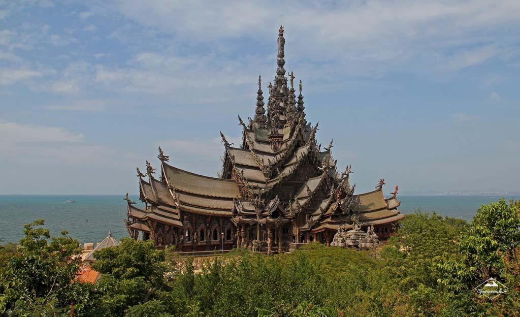 Храм Истины Паттайя, Таиланд,