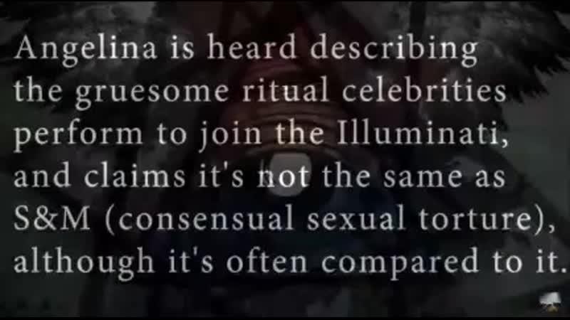 ANGELINA JOLIE über ihr Freimaurer Illuminati Ritual