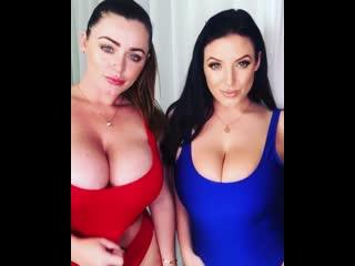 Sophie Dee & Angela