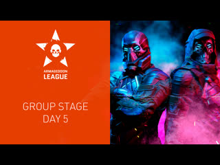Warface armageddon league: group stage. day 5