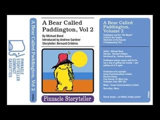 A Bear Called Paddington Volume 2 read by Bernard Cribbins (1975)