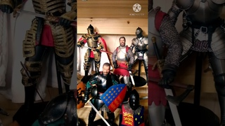 My collection of knights to date. Coomodel Poptoys