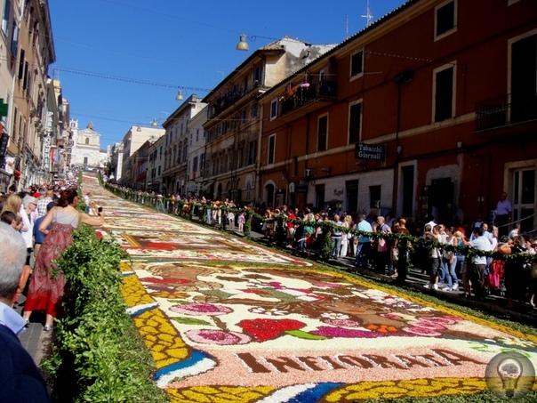 Фестиваль цветов в Дженцано