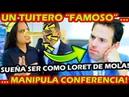 ¡ TUITERO ALTERA VIDEO DE AMLO PARA BAJAR SU POPULARIDAD ! SUEÑA CON SER COMO CARLOS LORET DE MOLA