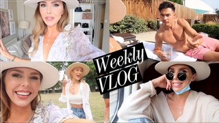 Pool Day, Park Party & Finally seeing my family! / STYLE HAUL DIARIES