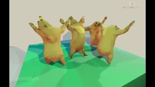 bears dance to sweat dreams 10 h