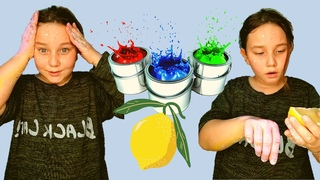 Вся в краске.  Как убрать краску с рук / All covered in paint. How to remove paint from your hands