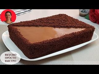 Без Духовки и Печенья ✧ Торт Рижский на Сковороде ✧ Невероятно Вкусный Шоколадный Торт ✧ SUBTITLES