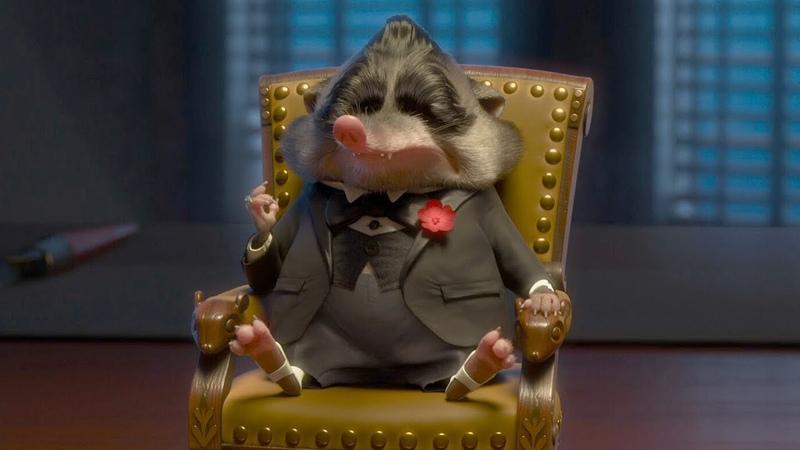 Мистер BIG Зверополис отрывок из фильма