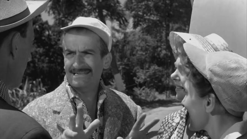 Такси, прицеп и коррида (Франция, 1958) комедия, Луи де Фюнес