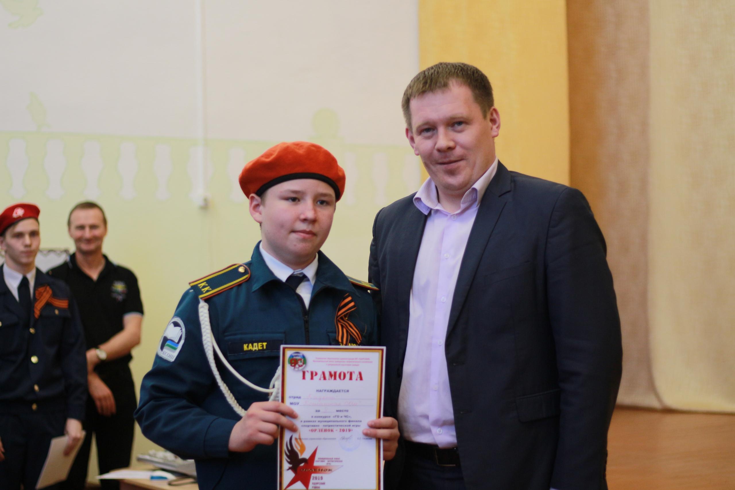 Муниципальная спортивно-патриотическая игра «ОРЛЁНОК – 2019»