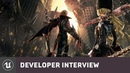 Code Vein by Bandai Namco Entertainment E3 2019 Developer Interview Unreal Engine