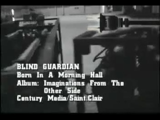 Blind Guardian - Born In A Mourning Hall (1995) (Official Video)