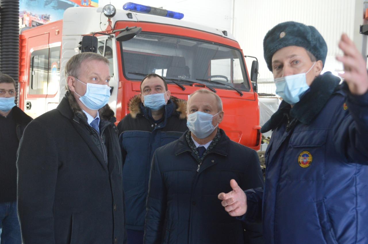 В этом году противопожарная служба Ростовской области отмечает 10-летие со дня основания