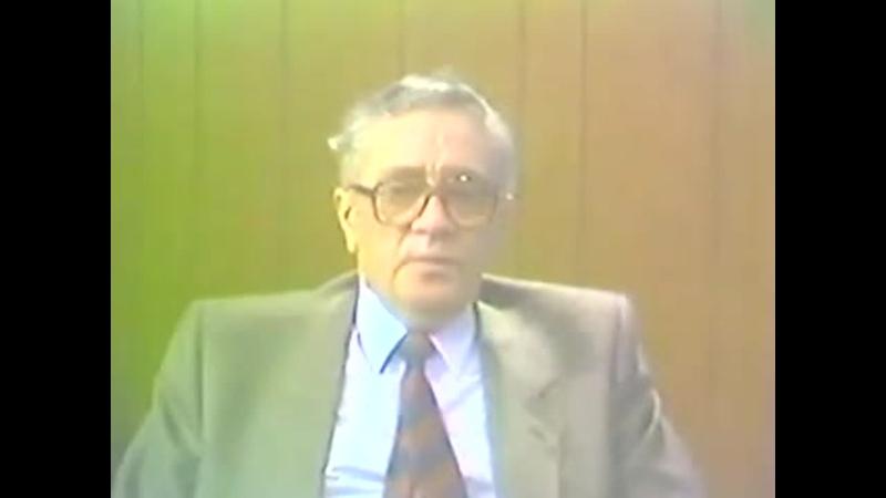 Беседа Джона Глэда с Владимиром Максимовым 1983 г
