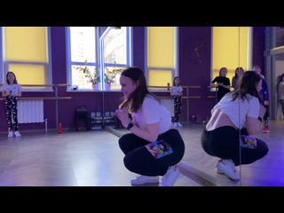 Dancehall choreo открытый урок