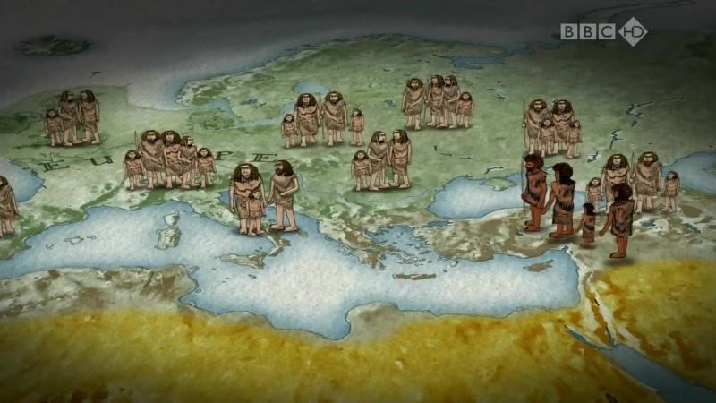 BBC Путешествие человека Европа 4 серия из 5 HD 720