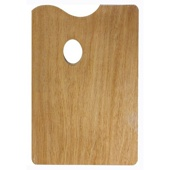 Палитра деревянная 20x30 см
