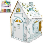 Дом Гном с набором пастели