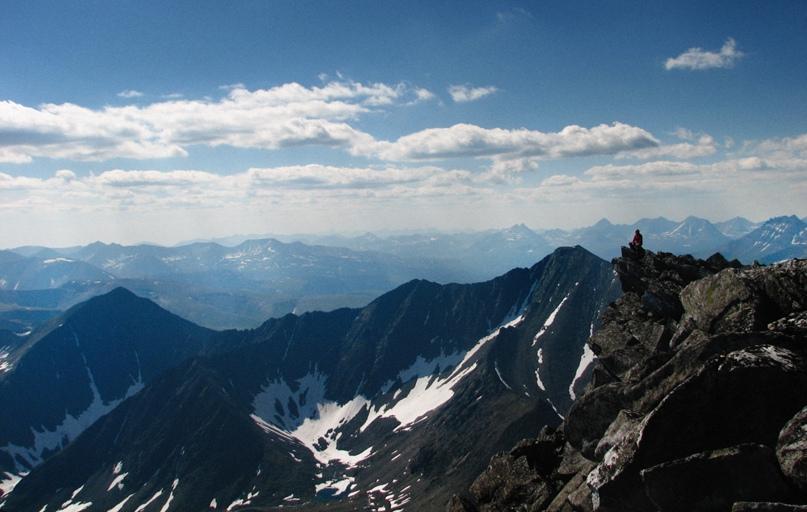 «Альпийский» рельеф Приполярного Урала