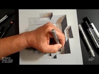 Удивительные Оптические Иллюзии, часть 1