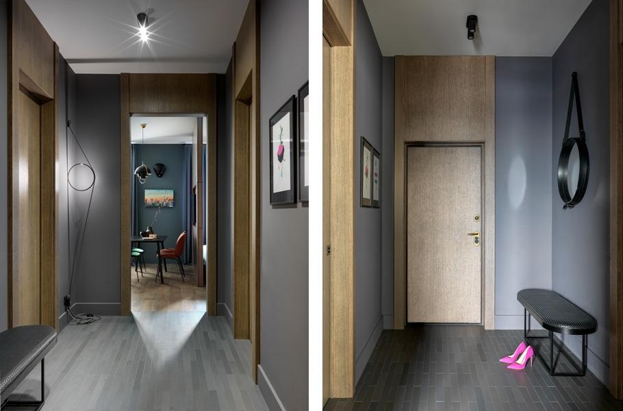 Интерьер квартиры 36 м в Москве.