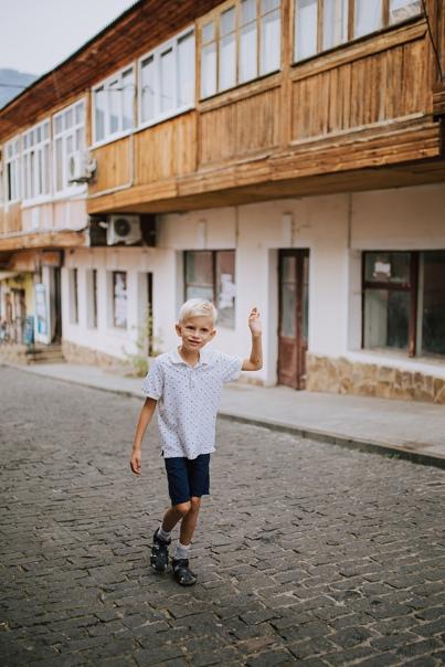 Фотосессия мама и ребенок в Гурзуфе . Лена. 9.18
