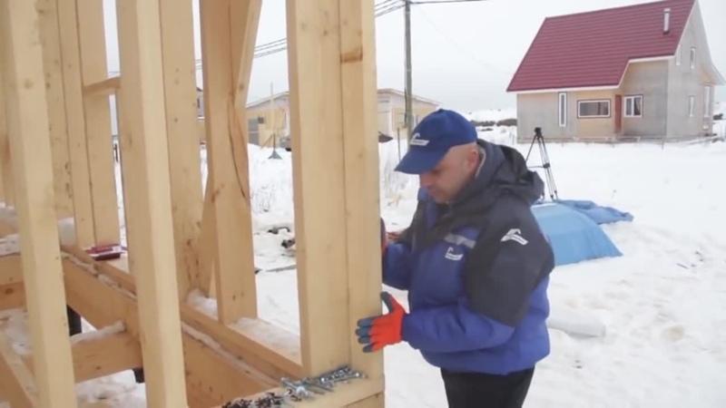 Грубейшие ошибки при строительстве каркасного дома.