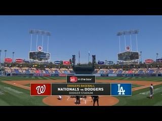 9 апреля 2021. Лос-Анджелес Доджерс (5-2) - Вашингтон Нэшнлс (1-2)