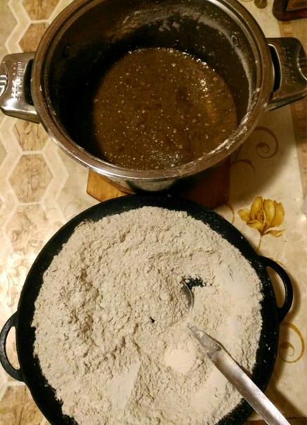 Рецепт пряничного теста с долгим выстаиванием от подписчицы Марины Симоновой, изображение №1